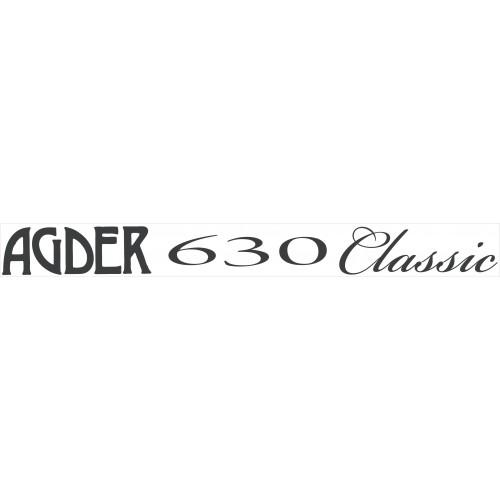 Båtdekor til Agder 630 Classic