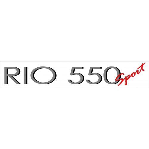 Båtdekor til Rio 550 sport