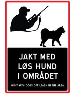 Jakt med løs hund